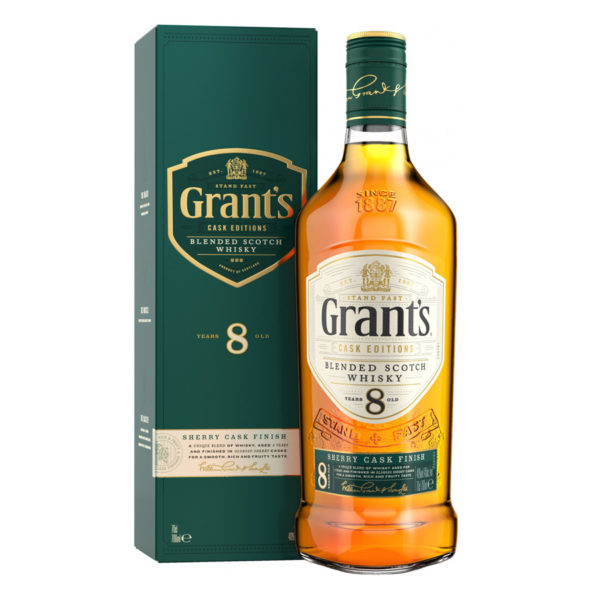 Grant's sherry cask editions