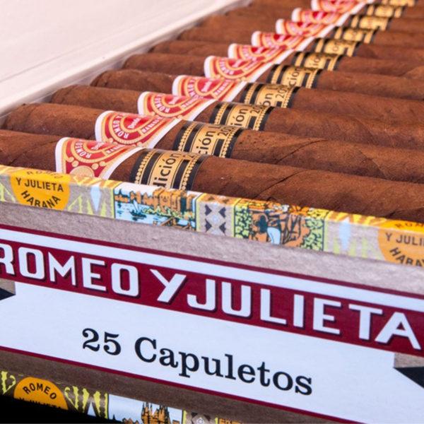 romeo y julieta capuletos box