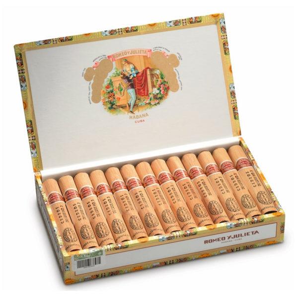 romeo y julieta cedros n 3 box