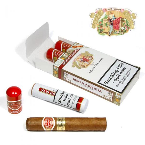 romeo y julieta short churchill box