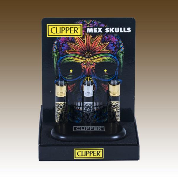 clipper mexican skulls
