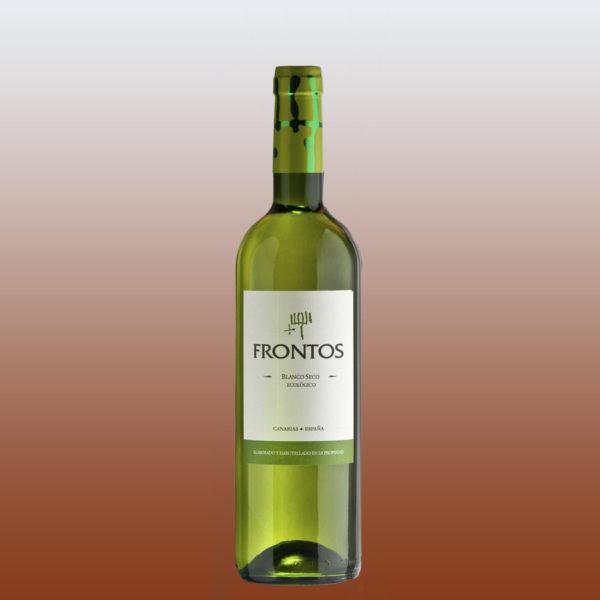 frontos vino blanco seco ecologico