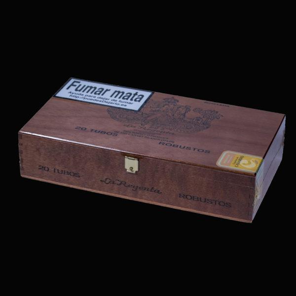 la regenta robustos box tubos 20