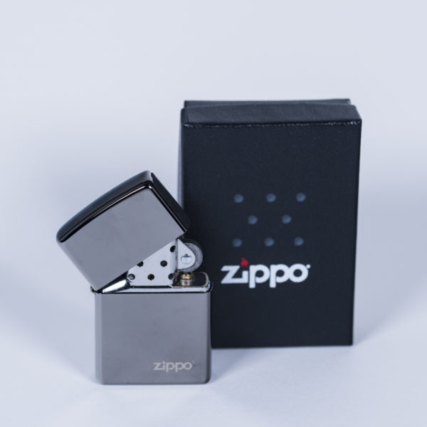 zippo clasico plata